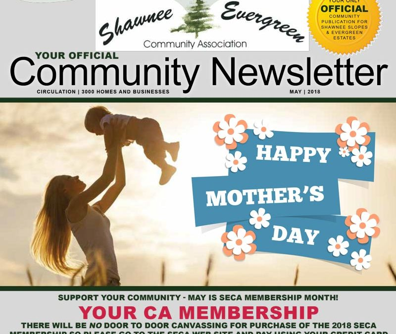 SECA May 2018 Newsletter