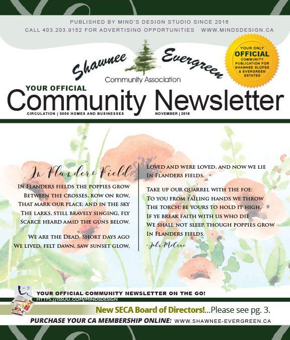 SECA November 2018 Newsletter