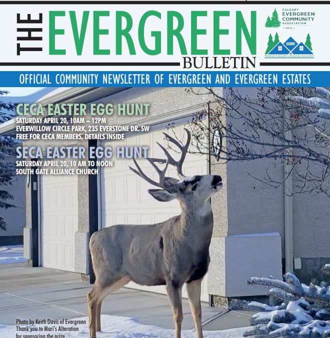 Evergreen Bulletin April 2019